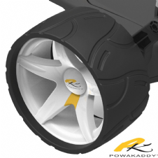 Powakaddy Wide Winter Wheels - PAIR PK3481WASSY